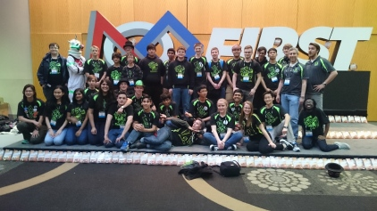 The team at St. Louis World Championships