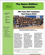 Oct 2014 Newsletter TN