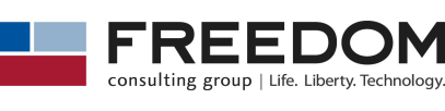 Freedom Logo with Tagline