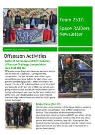 September_October 2019 Newsletter